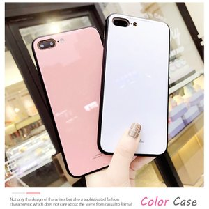 iPhone8 ケース iPhone7 ケース アイフォン8  薄型 背面ガラス|muuk-shop|03