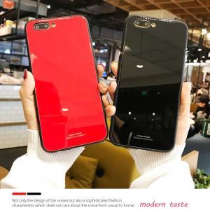 iPhone8 ケース iPhone7 ケース アイフォン8  薄型 背面ガラス|muuk-shop|06
