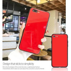 iPhone8 ケース iPhone7 ケース アイフォン8  薄型 背面ガラス|muuk-shop|07