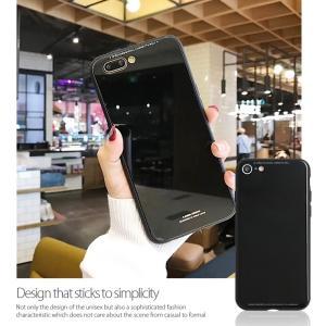 iPhone8 ケース iPhone7 ケース アイフォン8  薄型 背面ガラス|muuk-shop|08