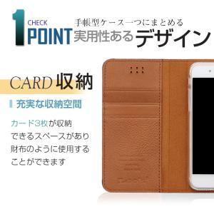 iphone8 ケース 財布 手帳 手帳型 カバー おしゃれ メンズ 革 本革|muuk-shop|02