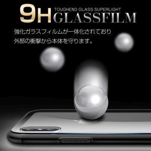 iPhone8Plus ケース iPhone8 plus ケース アイフォン8 プラス ケース  薄型 背面ガラス|muuk-shop|04