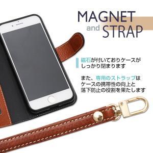iPhone8 ケース iphone7 ケース 手帳 手帳型 アイフォン8 本革 革 強化ガラス付|muuk-shop|10
