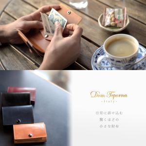 財布 本革 三つ折り財布 メンズ コンパクト イタリアンレザー 薄型 ウォレット サイフ|muuk-shop|02