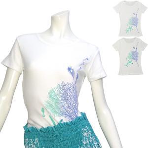 フラのTシャツにぴったり!吸水速乾のコットンベースの半袖Tシャツ!フラダンスのレッスン着として!もち...