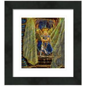 【アウトレット/30%OFF/クーポンあり】大天使ミカエル 絵画S(アートプリント)オラクルカードにも使われている絵画 |my-earth