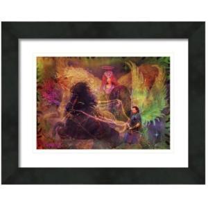 【アウトレット/30%OFF/クーポンあり】大天使アリエル 絵画S(アートプリント)オラクルカードにも使われている絵画 |my-earth