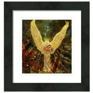 【アウトレット/30%OFF/クーポンあり】森の聖天使 絵画S(アートプリント)オラクルカードにも使われている絵画 |my-earth