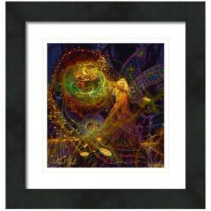 【アウトレット/30%OFF/クーポンあり】財宝の妖精 絵画S(アートプリント)オラクルカードにも使われている絵画 |my-earth