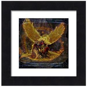 【クーポンあり】光の天使 絵画M(アートプリント)オラクルカードにも使われている絵画 |my-earth