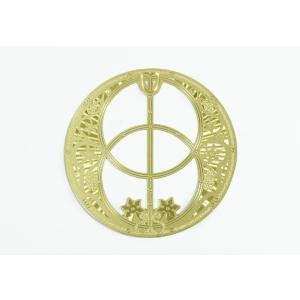 エナジーカード チャリスウェル/Chalice Well(開花) 神聖幾何学模様【メール便可】|my-earth