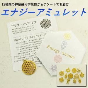 エナジーアミュレット 12種類からアソート 神聖幾何学模様のチャーム|my-earth