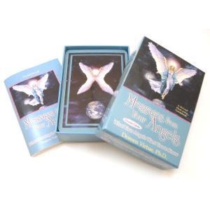 【クーポンあり】エンジェルオラクルカード2 天使からの深遠なるメッセージ。中級者向け♪(浄化用ホワイトセージ付き)|my-earth