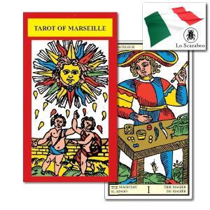 【クーポンあり】タロットカード タロット・オブ・マルセイユ 伝統的なマルセイユ版タロットカード【メール便可】