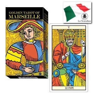 【クーポンあり】タロットカード ゴールデン・タロット オブ マルセイユ (マルセイユ版)【メール便可】 |my-earth