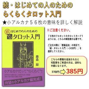 【クーポンあり】タロットカード入門セット 初心者も安心の日本語入門書付き(カードは4種類から選べる!)【メール便可】 |my-earth|10