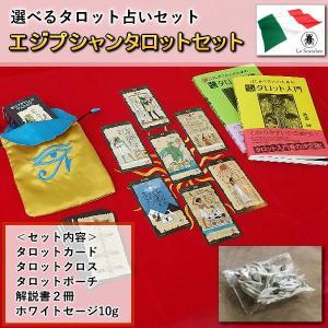 【クーポンあり】古代エジプトの神秘 エジプシャン・タロットカードセット タロット占いがすぐ始められるセット(カードは3種類から選べる!)|my-earth