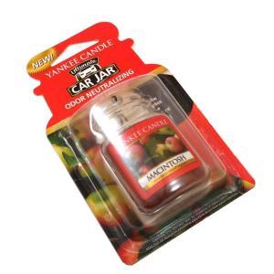 ヤンキーキャンドル ネオカージャー マッキントッシュ もぎたてのリンゴの香り(芳香剤)|my-earth