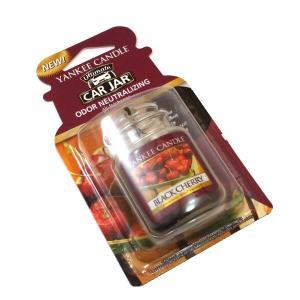 ヤンキーキャンドル ネオカージャー ブラックチェリー 濃厚で甘酸っぱいチェリーの香り(芳香剤)|my-earth