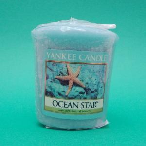 ヤンキーキャンドル オーシャンスター 全米No.1のアロマキャンドル キラキラ輝く海の香り|my-earth