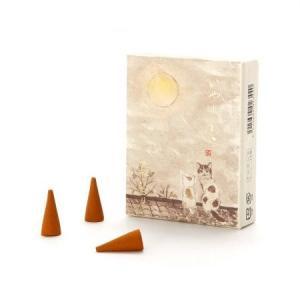 いやしねこ「晩秋の香り」コーンインセンス 京都のお香 香彩堂|my-earth