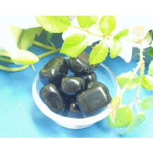 パワーストーン 天然石 お守り石(タンブル) ブラックオニキス 黒く輝く破邪の石 my-earth