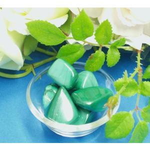 パワーストーン 天然石 お守り石(タンブル) マラカイト 美容と健康を促す石|my-earth