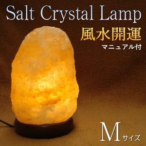【クーポンあり】ソルトランプ Mサイズ 風水開運マニュアルプレゼント(開店祝い・新築祝い・ギフト)|my-earth