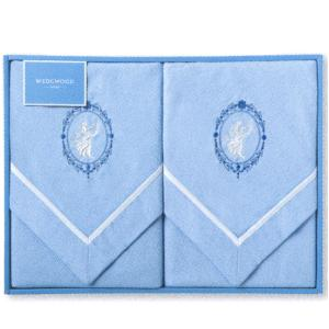 宅配送料無料 ウェッジウッド 綿毛布2枚 ジャスパーコレクション 《 ギフト 贈答 内祝 快気祝 》|my-mama