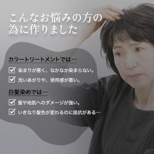 カラートリートメント ブラウン 2本セット 白髪 白髪染め 女性 女性用 レディース  マイナチュレ 公式 ヘアカラー スカルプ 頭皮ケア 無添加 国産 オーガニック|my-nature-jp|14