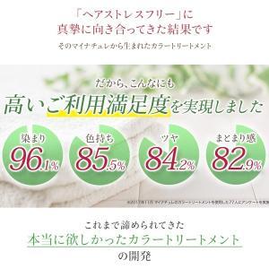 カラートリートメント ダークブラウン 2本セット 白髪 白髪染め 女性用 レディース  マイナチュレ 公式 ヘアカラー スカルプ 頭皮ケア 無添加 国産 オーガニック|my-nature-jp|16