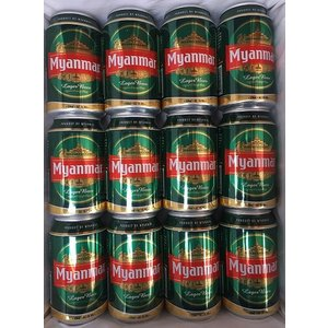 ミャンマービール(缶)12本入り1箱