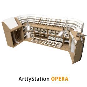 【プラモデル専用】組立式作業棚 Arttystation Opera (オペラ) 最高の完全モジュラ...