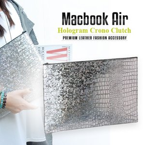 MacBook Air対応本革インナーケース GAZE Hologram Croco(ゲイズ ホログ...