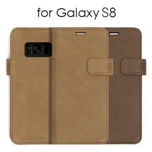 タイプ:手帳型 対応端末:Galaxy S8(5.8インチ) Galaxy S8専用 ケース カバー...