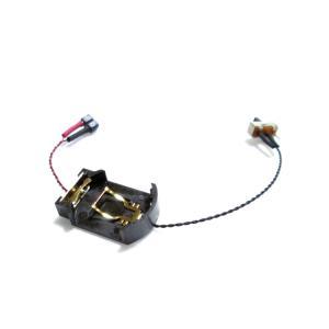 ボタン電池ケース 【CR2032用 スイッチ付】|mycraft