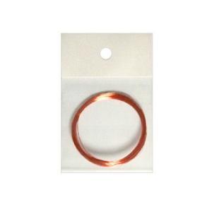 ポリウレタン線 【絶縁被膜:クリア(銅色) 長さ5m】 (LED自作配線用リード線)|mycraft