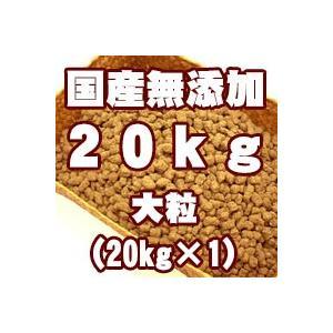 国産無添加スーパープレミアムドッグ 大粒 20kg【大袋1袋】【フィールドゲインをベースに当店で改良しました】|mydog22