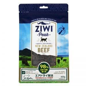 ジウィ キャットフード NZグラスフェッドビーフ 400g ZIWI ジウィピーク ZiwiPeak mydog22