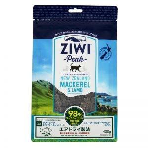 ジウィ キャットフード NZマッカロー&ラム 400g ZIWI ジウィピーク ZiwiPeak mydog22
