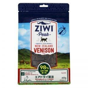 ジウィ キャットフード ベニソン 400g ZIWI ジウィピーク ZiwiPeak mydog22