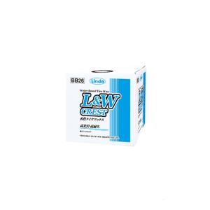 Linda BB26: L&W CREST 9kg(横浜油脂 - 水性タイヤワックス) [西濃例外送料: 沖縄.北海道.離島を除き送料無料]|mydokini