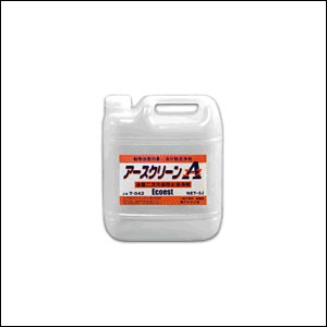 T-042 アースクリーンA 油分散洗浄剤 アルカリ性 容量:5リットル (エコエストジャパン: 流出油対策・二次汚染防止) [1.取寄せ 2.送料無料] mydokini