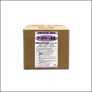 T-061 アースクリーンKA 油分散洗浄剤 強アルカリ性 容量:18リットル (エコエストジャパン: 食器洗浄・床洗浄向け) [1.取寄せ 2.送料無料] mydokini