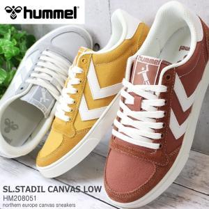 ヒュンメル スニーカー hummel SLIMMER STADIL CANVAS LOW HM208...