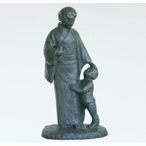 日本彫刻界の最高峰「北村西望」ブロンズ作品。文化勲章受章   <仕様> ・寸法:高さ126cm  ・...