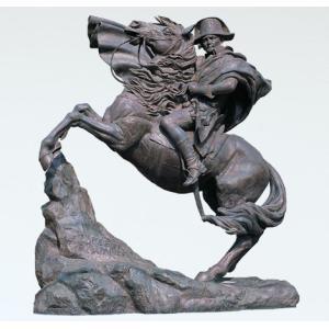 沖田景雲作。高岡銅器の大型彫刻ブロンズ作品、屋外モニュメントに迫力満点。   <仕様> ・寸法:22...