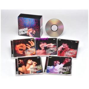絶叫・情熱・感激/西城秀樹 CD4枚+DVD1枚組 西城秀樹DVD