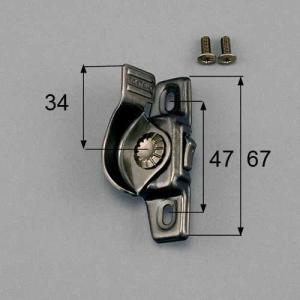 トステム LIXIL サッシ錠 クレセント 左側用 R1Y64 メール便対応|myhome-mainte
