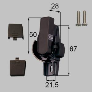 トステム LIXIL サッシ錠 クレセント 左側用 G-01L-BZLV CP|myhome-mainte